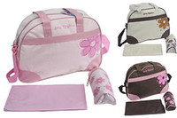Wholesale Diapers Can - 2016 New Baby Kids Diaper Bag Nappy Tote Messenger Changing Bag 118+Bottle Bag 3 Colors you can change
