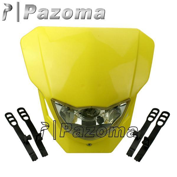 Universal Streetfighter Dirt Bike Headlight Front Lamp For Suzuki DRZ RMZ RM