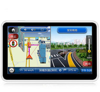 "Wholesale Av Navigation - Hot Selling Newest Version 7"" HD Car GPS Navigation AV-IN Bluetooth FM Window CE With TF 4GB 2014 3D Maps"