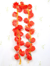 "$enCountryForm.capitalKeyWord Canada - NEW 48Pcs lot 2.35m 92.52"" Length Artificial Leaf Vine Simulation Maple Leaves Grass Rattan Flower Cane Wedding Christmas Home Decorations"