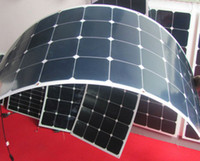 Wholesale Solar Cell Make - Free Shipping Light Weight Semi Flexible Solar Panel 100W made in China