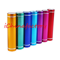 2600mAh PowerBank Mobile USB Cylinder Power Bank 2600 mah Ex...