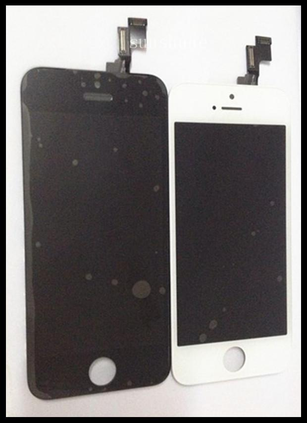 LCD Black White IPhone 5S Or 4s Display Touch Screen Digitizer With Frame  Full Assembly Replacement For IPhone 5S Or 4S LCD UK 2019 From Xialucy008 82bf25b28c