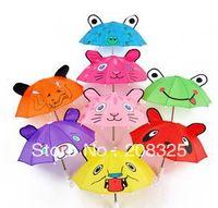 Wholesale Small Ears Cartoons - Wholesale-OP-Small ears cartoon umbrellas