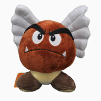 Wholesale Goomba Doll - Free Shipping New Super Mario Bros Plush Cute Fashion Doll Toy- Goomba With Wing 5.5""