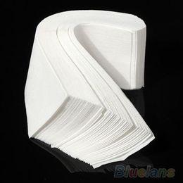 Wholesale Wax Strips Roll - 100 pcs Hair Removal Depilatory paper Nonwoven Epilator Wax Strip Paper Roll Waxing