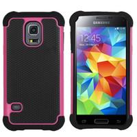 Wholesale Ballistic Case S4 - Football 3 in 1 Rugged ballistic Impact Combo PC+silicone Case cover For Samsung Galaxy s3 mini i8190 Galaxy s4 mini i9190 50PCS LOT