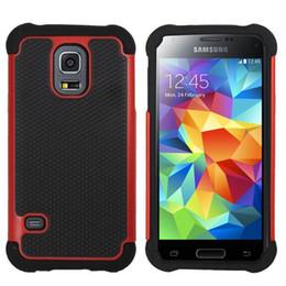Wholesale Ballistic Case S4 - Football 3 in 1 Rugged ballistic Impact Combo PC+silicone Case cover For Samsung Galaxy s3 mini i8190 Galaxy s4 mini i9190 100PCS L