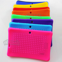 Wholesale Cheap Tablet Pc A13 - New better quality Soft Silicone Cover case For A13 A23 Q88 Q8 China Cheap Tablet PC