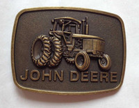 Wholesale THE DEERE N20 belt buckle with pewter finish suitable for cm wideth belt with continous stock