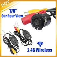 Wholesale Hdmi Camera Glasses - 2.4G WIRELESS Module adapter for Car Camera cam+170 Anti-Fog Glass Car Auto Rear View Reverse Waterproof Camera,Free Shipping
