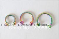 Wholesale Cheap Eyebrow Jewelry - Wholesale-OP-free shipping 1piece Body piercing jewelry ring studs eyebrow jewelry cheap cbr013