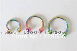 Wholesale Cheap Eyebrow Jewelry - Wholesale-OP-free shipping 1piece Body piercing jewelry ring studs eyebrow jewelry cheap cbr013