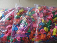 Wholesale Water Toy Package - 2017 Hot Sales holiday party Latex Free Color Water Balloons 16-18cm (inflated) 1 package   500pcs   lot