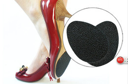 Wholesale Pc Massager - 1000pcs=500pairs Hot sell Self-Adhesive 2 Pcs Anti-Slip Shoes Heel Sole Protector Rubber Pads Grip Cushion