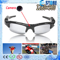 Wholesale New Digital Video Eyewear - New Digital Glasses Camera Mobile Eyewear Video Voice Recorder DV DVR 1280x960 High Quality Glasses Camera