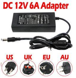 Adaptateur de transformateur chargeur alimentation 12V 6A AC / DC pour lumière de bande 5050 3528 LED RGB ? partir de fabricateur
