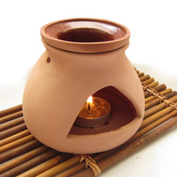 New Design Ceramic Candle Aroma Oil Burner Art Craft Home ...