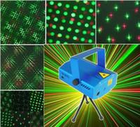 foco musical venda por atacado-Frete grátis Mini Mixed RedGreen Iluminação de Palco Projetor Spotlight Som / Música Equipamentos de DJ Ativo para Discoteca Luzes Club Party-Azul
