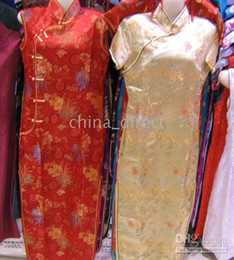 Wholesale cheongsam resale online - Chinese Cheongsam Evening Dress Prom Dresses Qipao gown dress Party dress hot