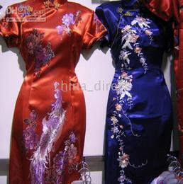 Evening Dress Silk Cheongsam Prom Dresses Qipao gown dress Party dress 10 pcs lot The newest hot on Sale