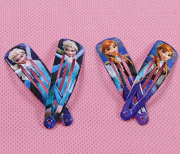 Wholesale Girls Hair Clips Mix - Wholesale - 2014 Fashion Frozen mixed Hair Clips Girls Hair Accessories Clamps Hairpin queen of snow and ice hairpins girls lovely Ornament