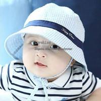 bebek bebek kovası şapka toptan satış-Bebek Şapka Erkek Kız Bere Şapka Caps Moda Kova Şapka Toddler Şapka Çocuk Kapaklar Çocuklar Şapka Erkek Kız Güneş Şapka Çocuk Kap Kapaklar Şapka Bebek Şapka