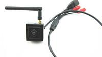 venda de caminhos-de-pinhole venda por atacado-Venda quente H.264 Onvif 720 P 1.0 Megapixel Hd Super MIni IP Micro Câmera Sem Fio Wi-fi Câmera de Rede IP Com Entrada de ÁudioOutput