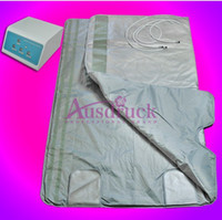 Wholesale Slimming Body - Time Temperature adjustable PU Material Far Infrared sauna slimming heating blanket Detoxification fat burning body shaping quick effect
