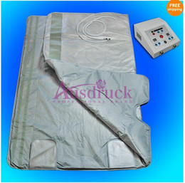 hot blanket slimming 2019 - Hot sale Far infrared blanket sauna slimming for fat burning body detox safe and comfortable cheap hot blanket slimming