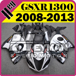 Wholesale Plastic Injection Cover - Heymanspeedmotor Injection Mold Fairing For Suzuki Hayabusa GSXR1300 GSX-R 1300 GSXR 1300 2008-2013 08-13+Tank Cover S38H32+5 Free Gifts