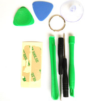 Wholesale cellphone tool kit resale online - 8 in REPAIR PRY KIT OPENING TOOLS FOR cellphone APPLE iphone4 S C S G sets