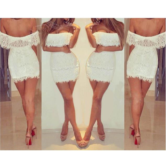 Vestidos cortos moda campesina