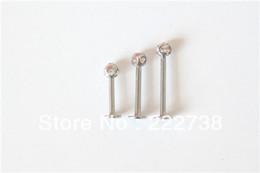 Wholesale Cheap Lip Jewelry - Wholesale-OP-Body piercing jewelry earrings Labret,Lip Piercing Jewelry 002 free shipping cheap