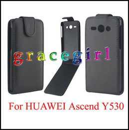 Discount cases for flip phones - Flip PU Leather Case Pouch For Samsung Galaxy 2017 A3 A5 A520 Huawei Ascend P10 Y530 Y560 Synthetic Plain Smooth Skin BA