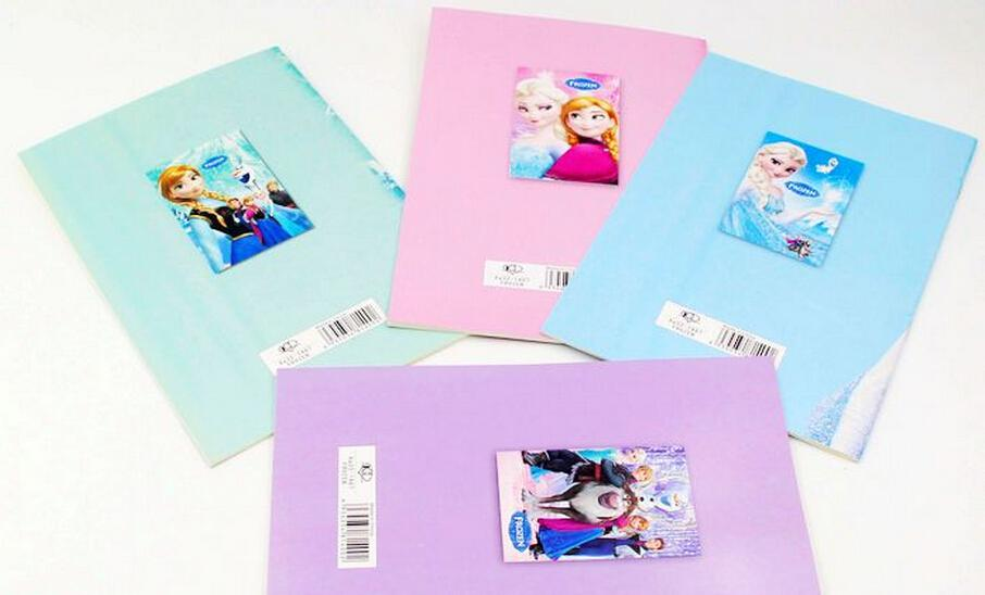 Frozen Cartoon 55x4 Kids Coloring Book With Stickers Drawing