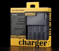 Wholesale Intellicharge I4 - NiteCore Intellicharge I4 Battery Charger For Li-ion  Li-Mn Batteries Retail Package