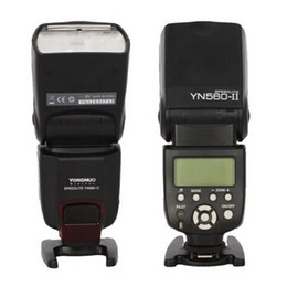Wholesale Yn Flash - Yongnuo YN-560 II Flash Speedlite Slave Light for Canon Nikon DSLR Camera