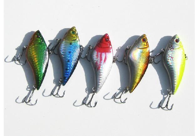 VIB Fiske Lure Fiske Bait 70mm 16g Hela skiktdjup 5 stycken / mycket gratis frakt