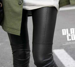Wholesale Khaki Leggings - XL - S Faux Leather Leggings for women Lady leggins pants New sexy Fashion 2014 wholesale free shipping
