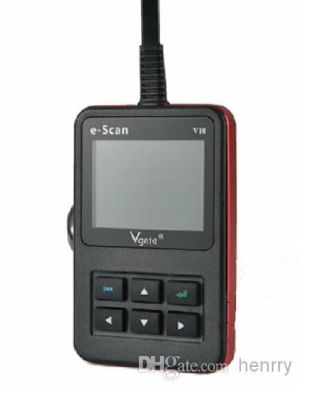 Original Vgate E-Scan V10 Tool Gasoline Car E SCAN V 10 OBD2 Protocols CAN Compliant Live Data DTC Scanner
