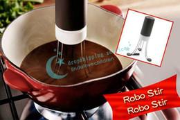 Al por mayor-OP-1Pcs 18 * 11 * 11 cm NUEVO 3 Velocidades Cordless Stir Loco Stick Blender Robo Stir Crazy Stirs envío de la gota / envío gratis desde fabricantes