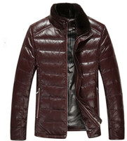 Where to Buy Down Jacket Mink Collar Online? Buy Branded Mens Down