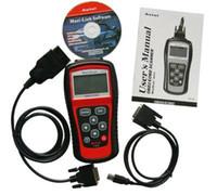 Wholesale Porsche Equipment - MS509 Automotive Diagnostic Equipment Scanner Detector OBD SCANTOOL MS509 Car Fault Detector