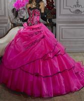 ingrosso fanno il vestito dalla fasciatura-Nuovo arrivo Abiti Quinceanera Piano Lunghezza Lungo Custom Made Crystal Ball Gowns Formation Bandage Fashion Lovely W8004