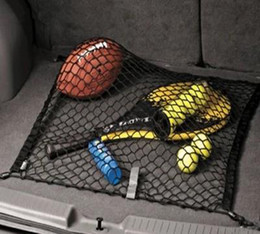 Wholesale Trunk Cargo Net For Cars - 2014 new Elastic Car Rear Cargo Trunk Storage Organizer Nylon Net for SUV Universal