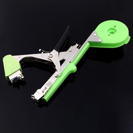 Wholesale Wholesale Tape Cutting Machine - Agriculture Tape Tool Garden Hand Tying Machine for Fruit Vegetable Vine Tomato Metal Plants Tools DHL H11000
