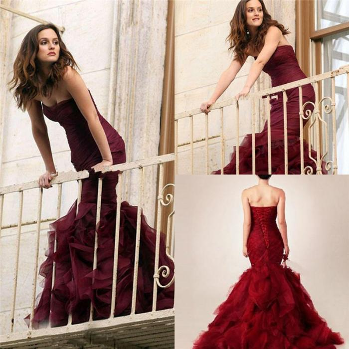 robes l gantes france robe de mariee sirene rouge. Black Bedroom Furniture Sets. Home Design Ideas