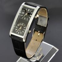 Wholesale Watch Soki - SOKI Black Womens Watches For Travel Casual Double Dual Timezone Quartz Ladies Leather Band Wristwatch W037