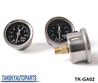 Wholesale Regulator Gauge - Universal High Performance SARD Liquid-Filled Turbo Charger Black Fuel Regulator Pressure Gauge Meter TK-GA02 Have In Stock